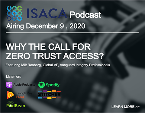 why the call for zero trust podcast