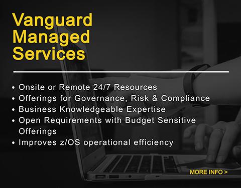 vanguard managed services