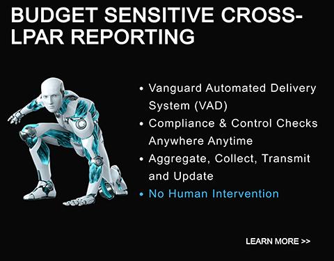 budget sensitive cross-lpar reporting