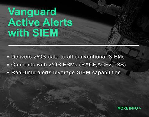 vanguard active alerts with siem