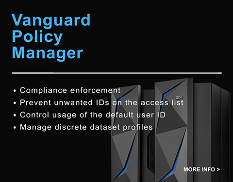 vanguard policy manager